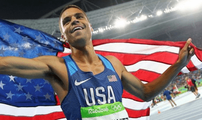 Broadneck's Centrowitz wins Gold in the 1,500 meters