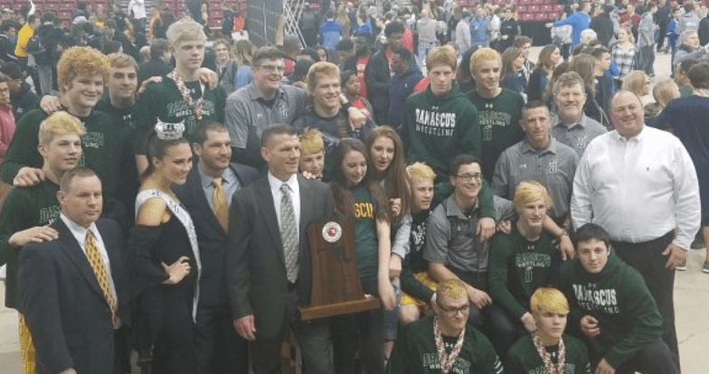 Damascus makes it a three-peat with 4A/3A state wrestling tournament crown
