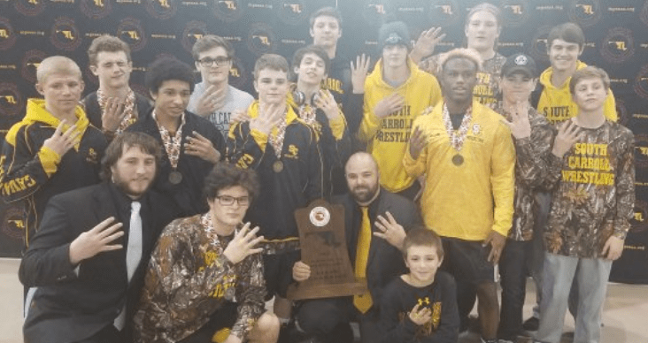 South Carroll pins down fourth straight 2A/1A state tournament title