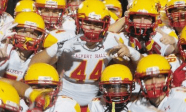 Calvert Hall storms into Top 10 in state football poll
