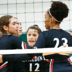 Spalding volleyball sweeps AACS in first match