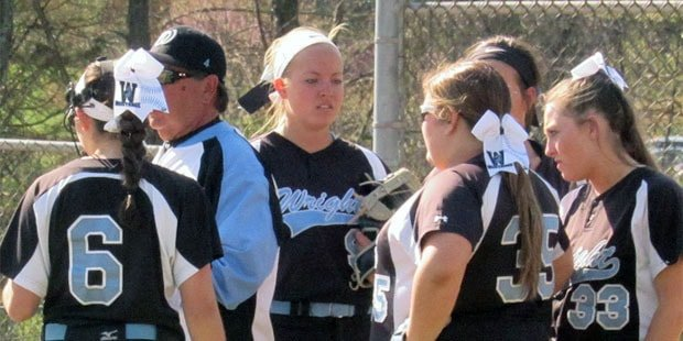 C. Milton Wright softball wins wild one at Westminster