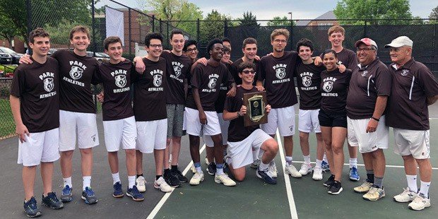 Park claims its first MIAA tennis crown