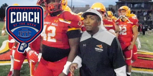 Calvert Hall's Davis honored by BTC after historic win