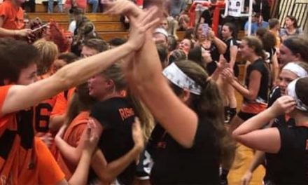Rising Sun volleyball roars back from two sets down