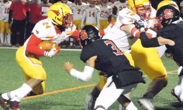 Calvert Hall moves up in state Top 25 poll