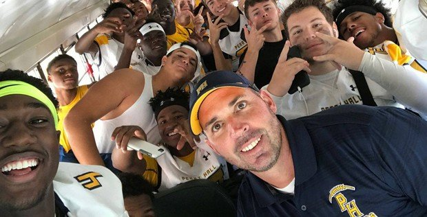 Robinson steps down as head of Perry Hall football