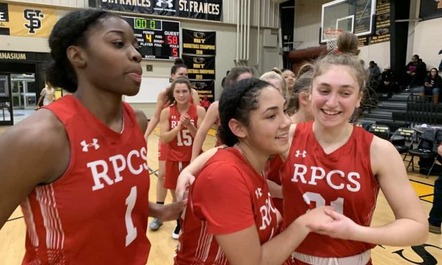 Simmons, No. 1 Roland Park survives