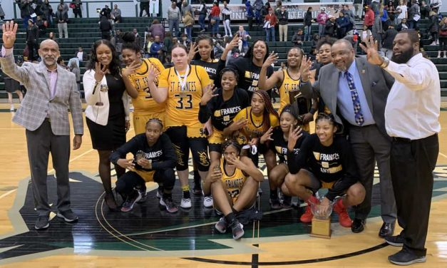 St. Frances back at No. 1 in latest VSN Girls Basketball Top 20 poll