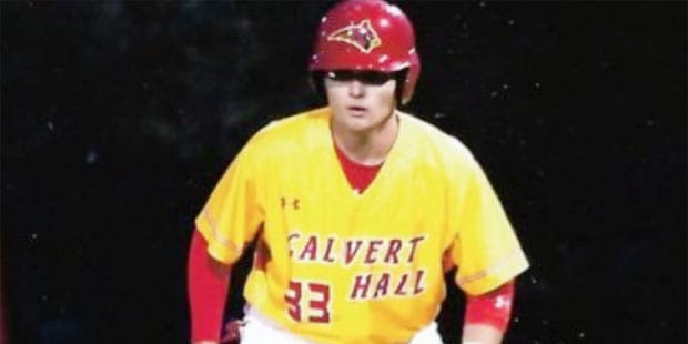 Calvert Hall baseball moves into first place in MIAA A