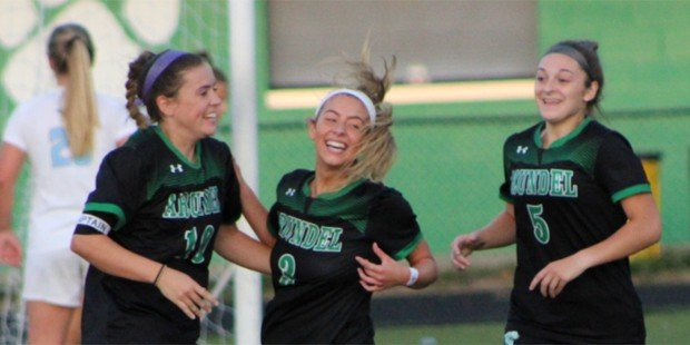 Arundel makes move in VSN Girls Soccer Top 20