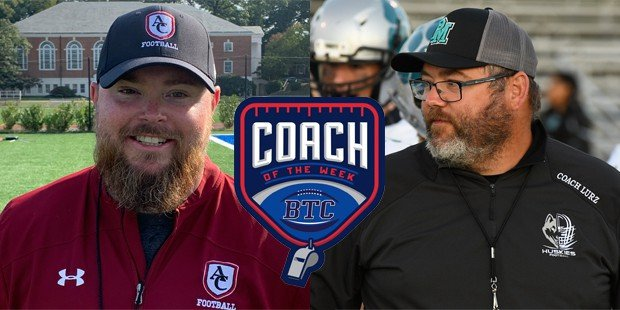 Curley's Ireton and Patterson Mill's Lurz share BTC Coach of the Week honors