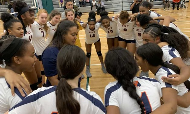 Poly again sits on Baltimore City volleyball throne