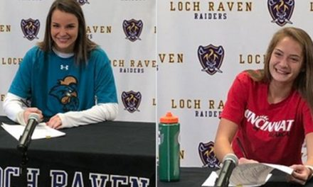 Loch Raven's Joyce and Rose ink NLI's for lacrosse