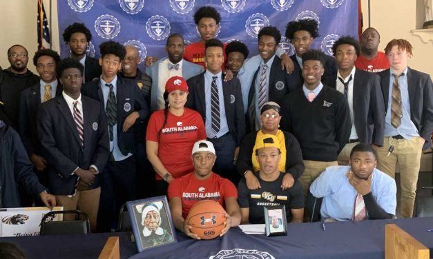 St. Frances basketball has four sign National Letters of Intent