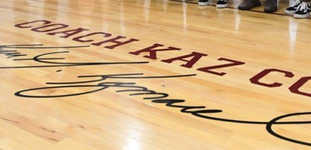 Broadneck dedicates Coach Kaz Court