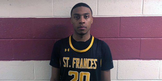 West scores 39 as St. Frances stays undefeated in MIAA A
