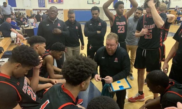 Spalding making moves in latest VSN Boys Basketball Top 20