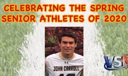 Celebrating John Carroll's Tyler Rosso