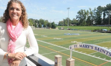 St. Mary's AD Fondale honored by MSADA