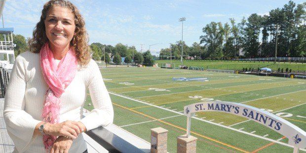 St. Mary's AD Fondale honored as by MSADA