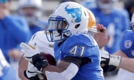 Pallotti's Jaret Patterson ties NCAA record for rushing touchdowns in single game