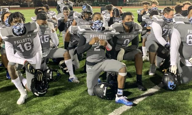 """Pallotti football delivers """"A"""" surprise at Calvert Hall"""