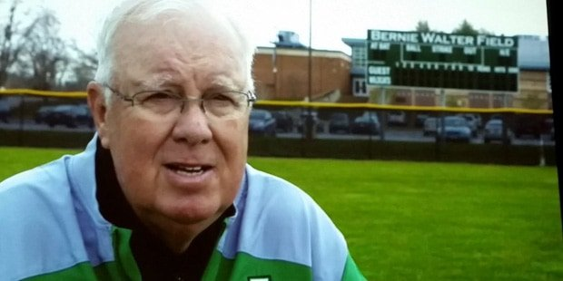 Baseball coaching legend Bernie Walter dies
