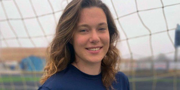 River Hill goalie Caroline Duffy is thankful to play