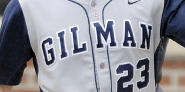 Gilman pulls away from McDonogh in baseball opener