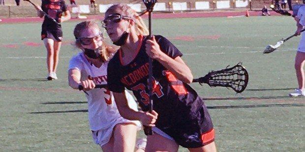 McDonogh girls lax prevails in tough Brooklandville battle