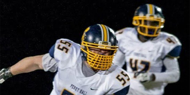 Pick six propels Perry Hall football to a rout in opener