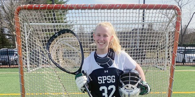 St. Paul's goalie Leah Warehime thrives on chaos of high-pressure lacrosse