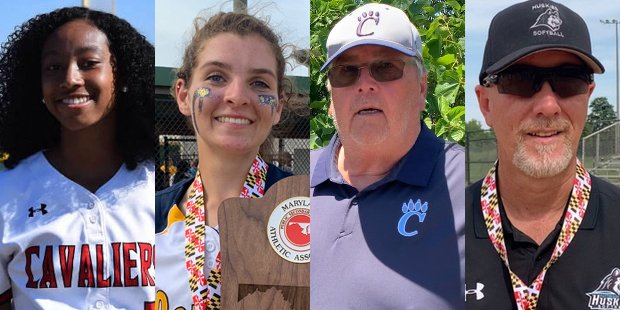 2021 VSN Softball Players and Coaches of the Year