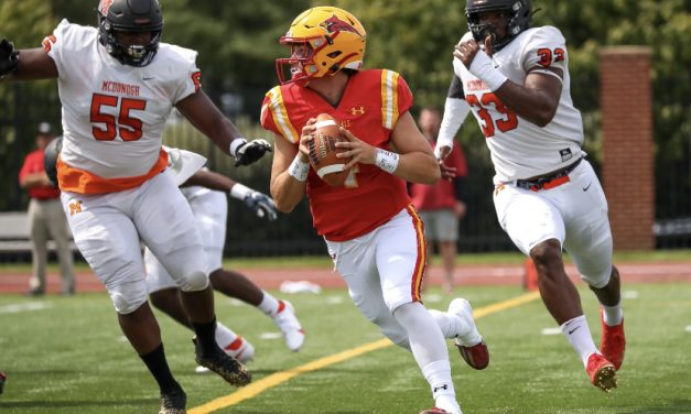 Calvert Hall makes move in state football poll