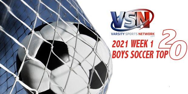Fallston moves into the Week 1 VSN Boys Soccer Top 20