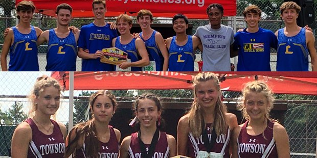 Loyola and Towson win titles as Barnhart Invitational returns