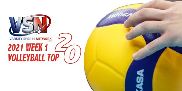 Glenelg gains a place in the Week 1 VSN Volleyball Top 20