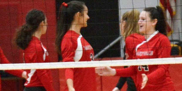 Yet another sweep for No. 1 Maryvale Prep volleyball