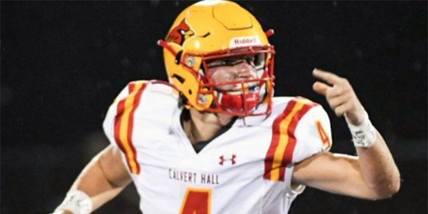 Early turnovers give No. 4 Calvert Hall the edge at St. Mary's